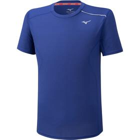 Mizuno Dry Aeroflow T-Shirt Homme, mazarine blue